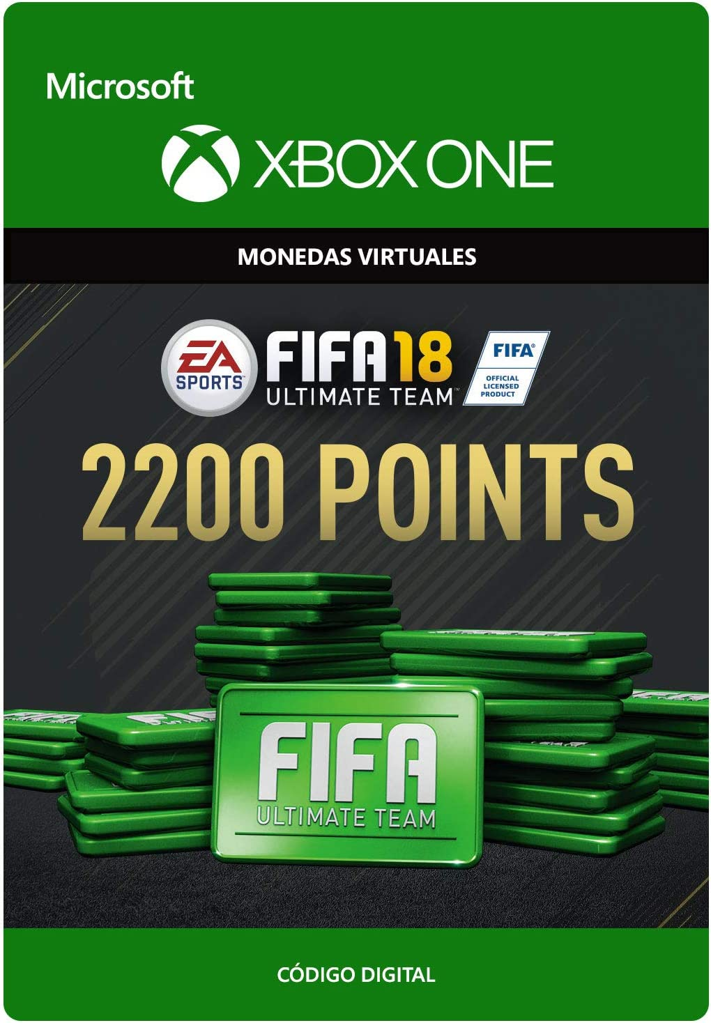 FIFA 18: Ultimate Team FIFA Points 500 | Xbox One - Código de ...