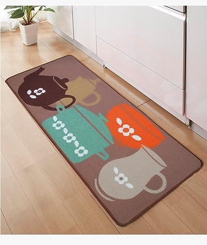 pllp Tappetini da cucina, lunghe strisce di tappeti IKEA assorbenti ...