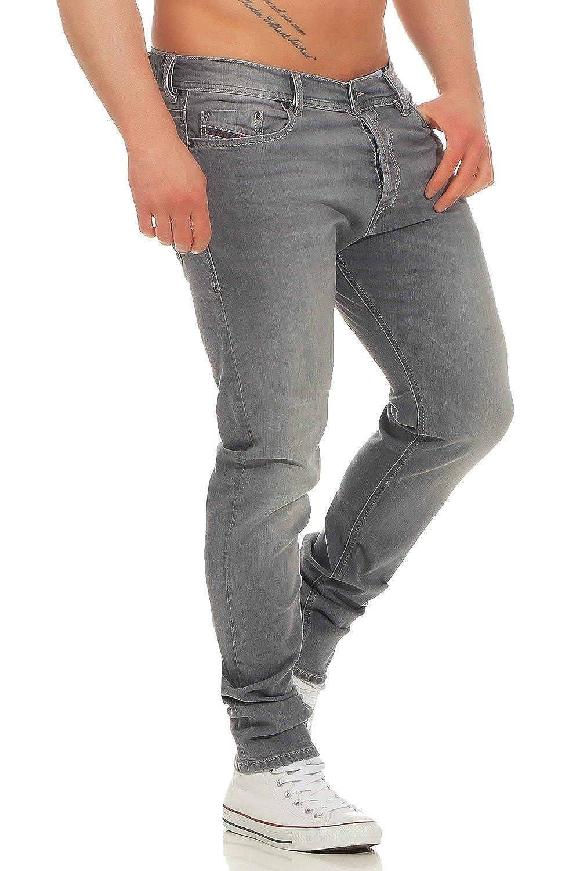 1152f52b777e0 Diesel Men's Tepphar R050G Slim Carrot Jeans 98% Cotton 2% Elastane