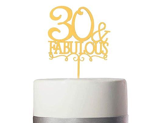 Decoración para tarta de cumpleaños de Fst Ego, acrílico ...