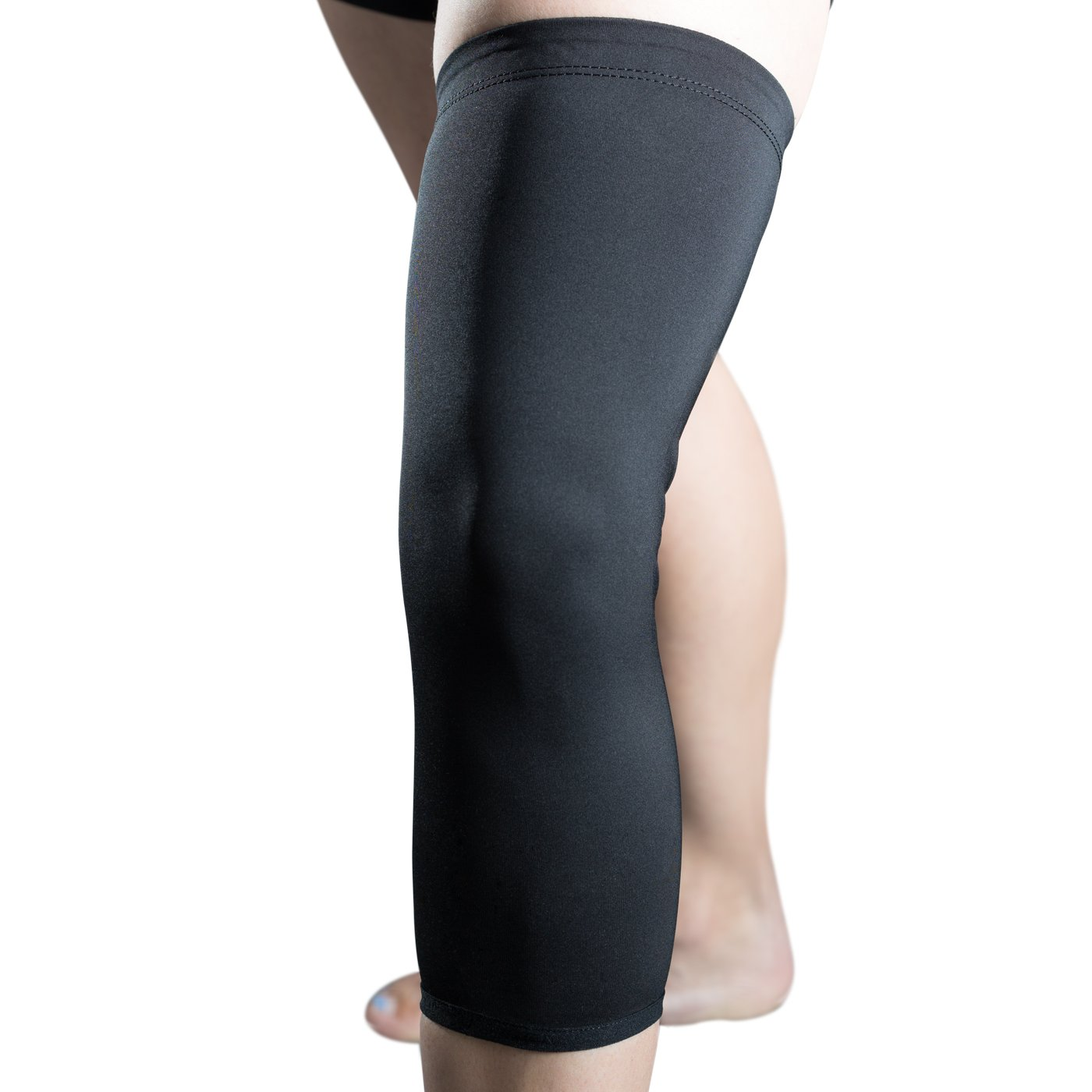 DonJoy Reaction Compression Support: Knee Brace Undersleeve, Large by DonJoy