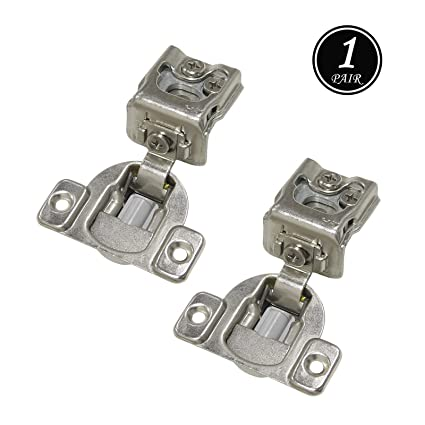 3 Way Face Frame Hinges For Kitchen Cabinets Soft Closing 1 1 4