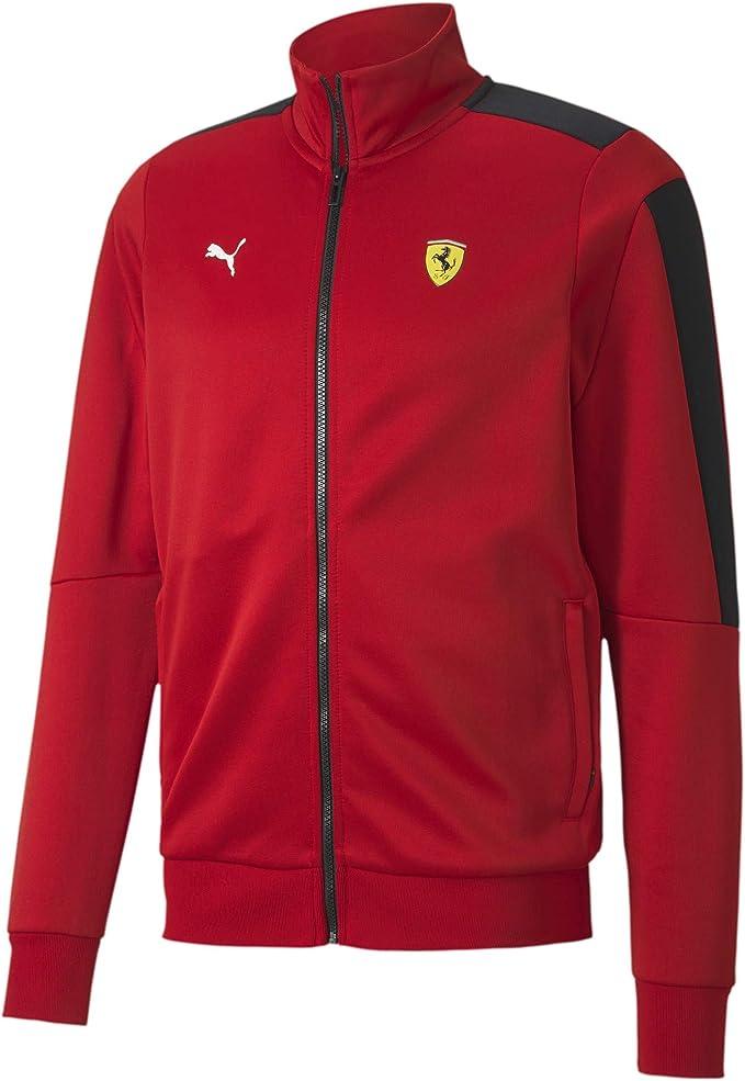 Puma Formula 1 Herren Scuderia Ferrari Race T7 Trainingsjacke Bekleidung