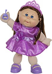 "Cabbage Patch Kids 14"" Kids - Brunette Hair/Blue Eye Girl Doll in ""Glitz"" Fashion"