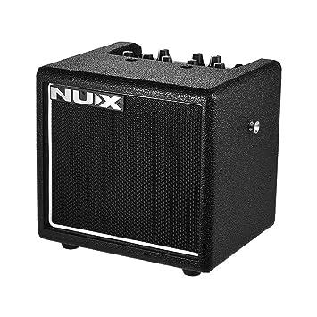 ammoon NUX Amplificador Digital de Guitarra MIGHTY 8SE Portátil 8W EQ de 3 Bandas Sintonizador Incorporado