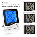 Mudder Digital Indoor Thermometer Hygrometer with
