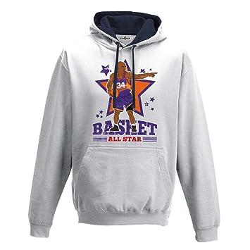 KiarenzaFD Sudadera Capucha Bico Baloncesto Vintage Parodia Charles All Star Barkley 2 Hombre: Amazon.es: Deportes y aire libre