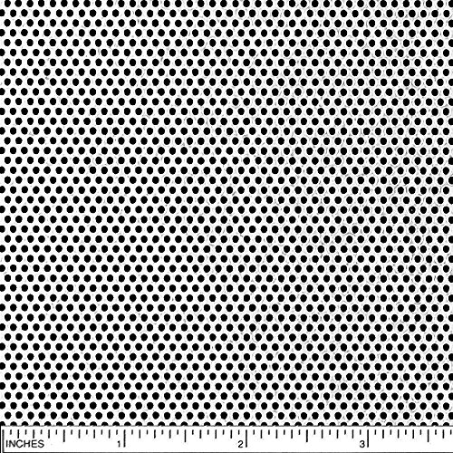 Online Metal Supply 304 Stainless Steel Perforated Sheet, Thickness: 0.030 (22 ga.), Width: 24'', Length: 48'', Hole Size: 0.063 (1/16), Staggered 0.093 (3/32) by Online Metal Supply