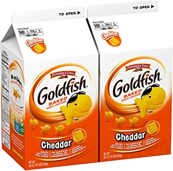 2-Pack Pepperidge Farm Goldfish Cheddar Crackers 30 oz