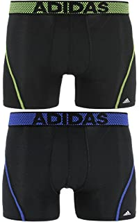 0bb14c47fc Amazon.com  adidas Men s Sport Performance ClimaCool Boxer Underwear ...