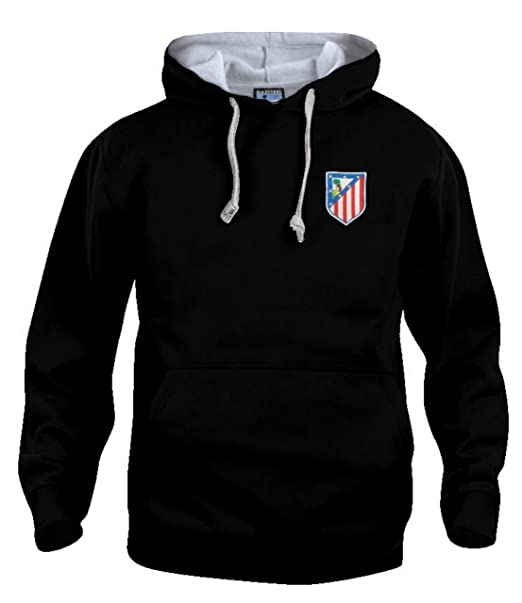 Old School Football Retro Atlético de Madrid 1960s Sudadera DE Futbol Tallas s-3xl Logotipo