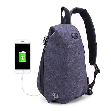 2023ba7416 AH ARCTIC HUNTER Small Sling Backpack Chest Cross Body Bag for Men Ipad  Lightweight Shoulder Bag
