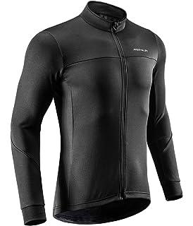 efd63d965 Przewalski Men s Cycling Jersey Thermal Long Sleeve Bike Shirt Breathable  Full Zipper Bicycle MTB Jacket