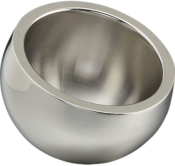 stainless steel mini snack bowl | CB2