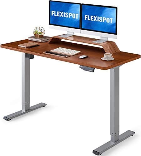 FlexiSpot Height Adjustable Desk 55 x 28 inches - the best home office desk for the money