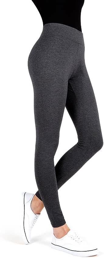 MeMoi - Leggings para entrenamiento de yoga para mujer, de algodón y rayón Gris gris M/L: Amazon.es: Ropa y accesorios
