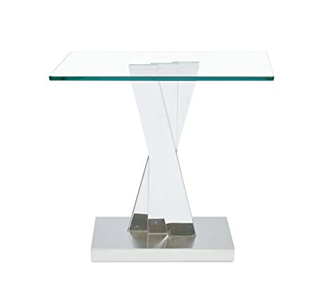 Amazon.com: Global muebles t2056e Trifold Base mesa auxiliar ...