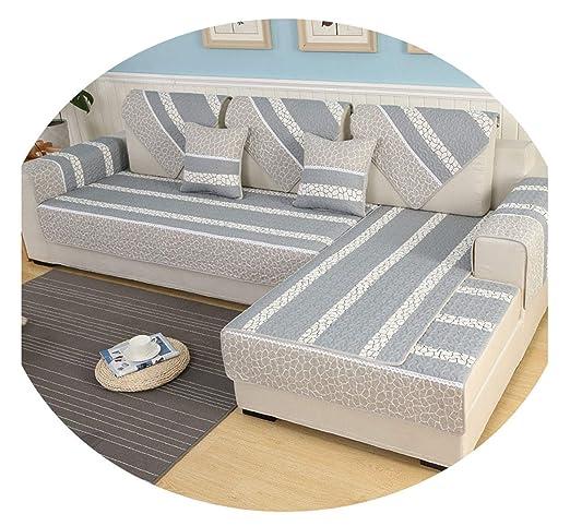 AngelLove SofaSlipcovers - Funda de sofá de Tela de algodón ...