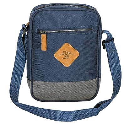 410bd70c56 SoulCal Unisex Pocket Zip Mini Gadget Bag Size H 22 x W 16 x D 4 cm ...