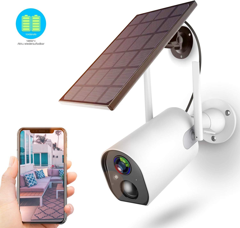 Überwachungskamera Akku Solarpanel - Überwachungskamera