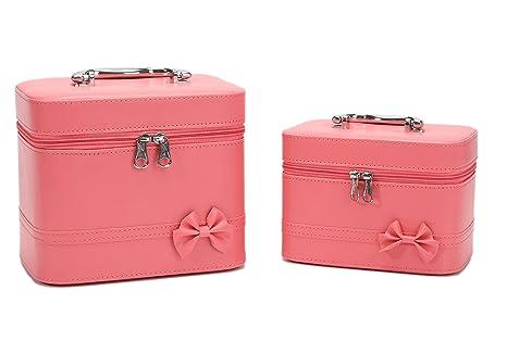 Amazon.com: HOYOFO - Estuche de maquillaje para mujer, caja ...