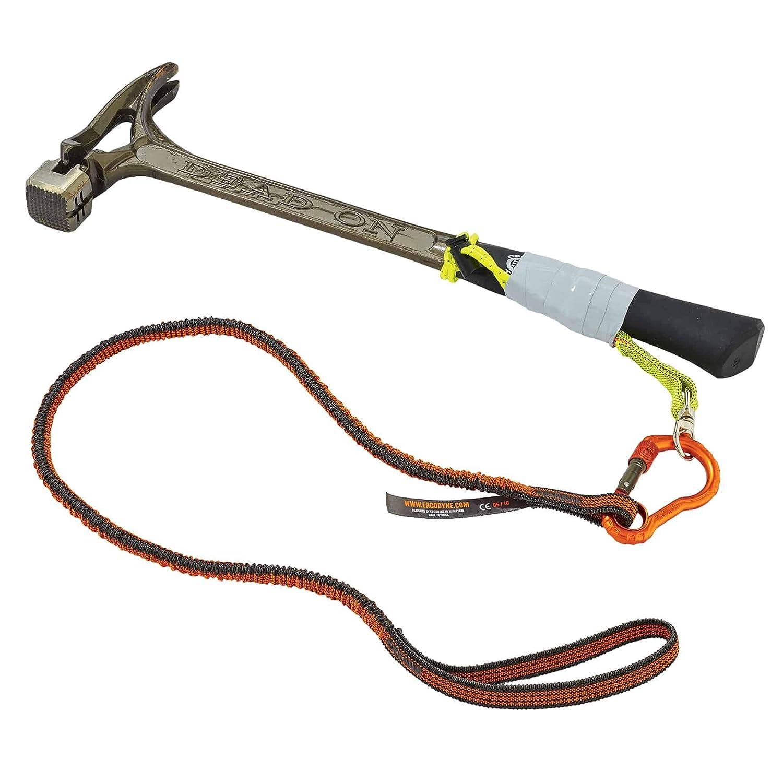 10 Pounds x Ergodyne Squids 3100F Shock Absorbing Tool Lanyard with Single Aluminum Carabiner