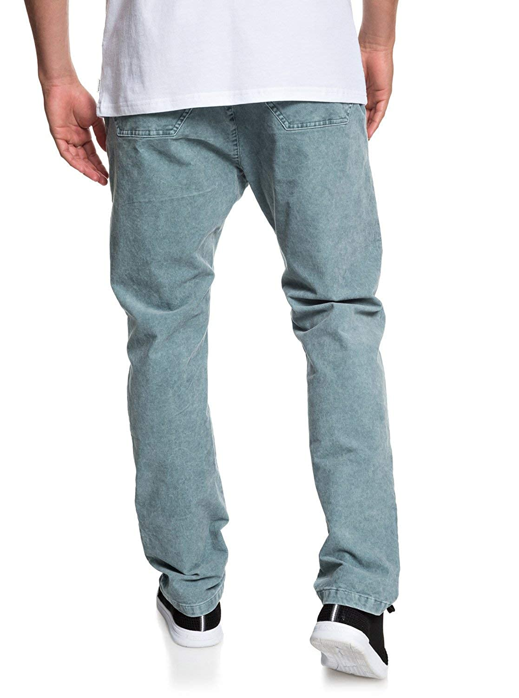 Quiksilver - Pantalón Tipo Chándal de Pana - Hombre - XS - Azul ...