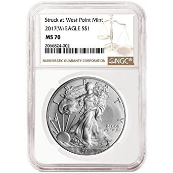 NGC MS70 2017 American Silver Eagle