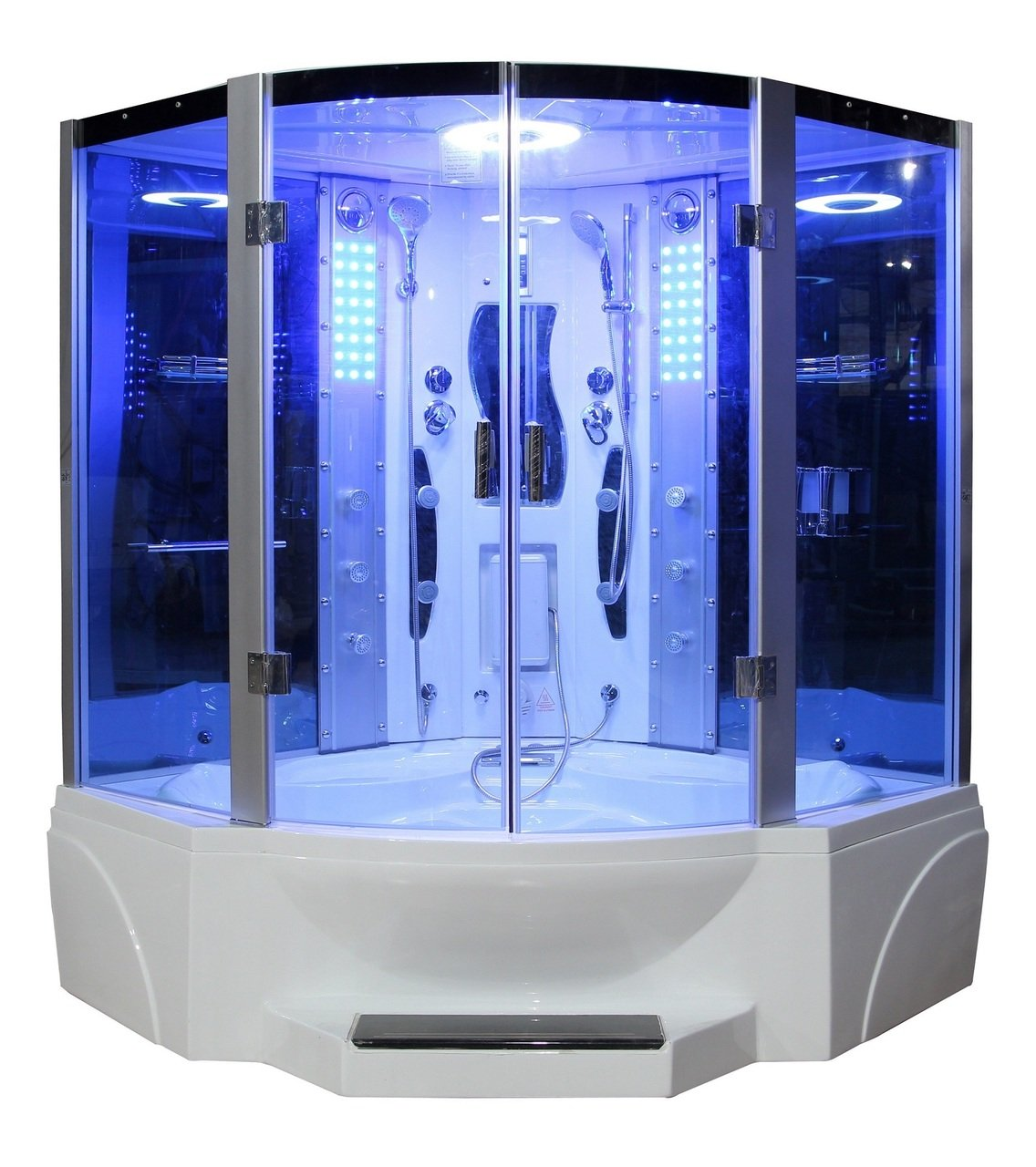 Eagle Bath WS-608P 110v ETL Certified Steam Shower Enclosure (3KW ...