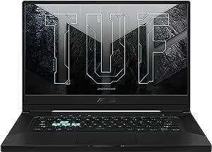 ASUS TUF Gaming F15 FX516PE-HN004T (Eclipse Gray) 4Core 11Gen Intel Core i5 CPU 3.1GHz, 8GB RAM, 512GB SSD, NVIDIA GeForce RTX3050Ti, 15.6-inch FHD 144Hz, 4GB GDDR6, Win10, Backlit-Eng-Arb-KB.