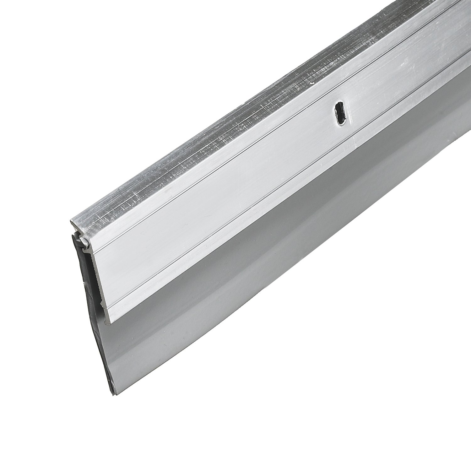 Frost King A62/48 2'' Wide x 48'' Long Premium Extra Wide Aluminum and Vinyl Sweep, White