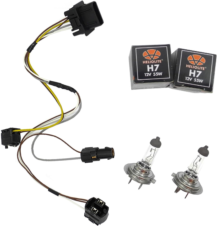 Amazon.com: ADVANCE IGNITION Headlight Wiring Harness and H7 55W Headlight  Bulb Compatible with Mercedes-Benz 96-03 E300 E320 E420 E430 E500 E55 AMG  1996 1997 1998 1999 2000 2001 2002 2003: AutomotiveAmazon.com