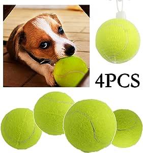 BPS® Pack de Juguetes para Perro, Juguetes Pelotas Tenis para ...