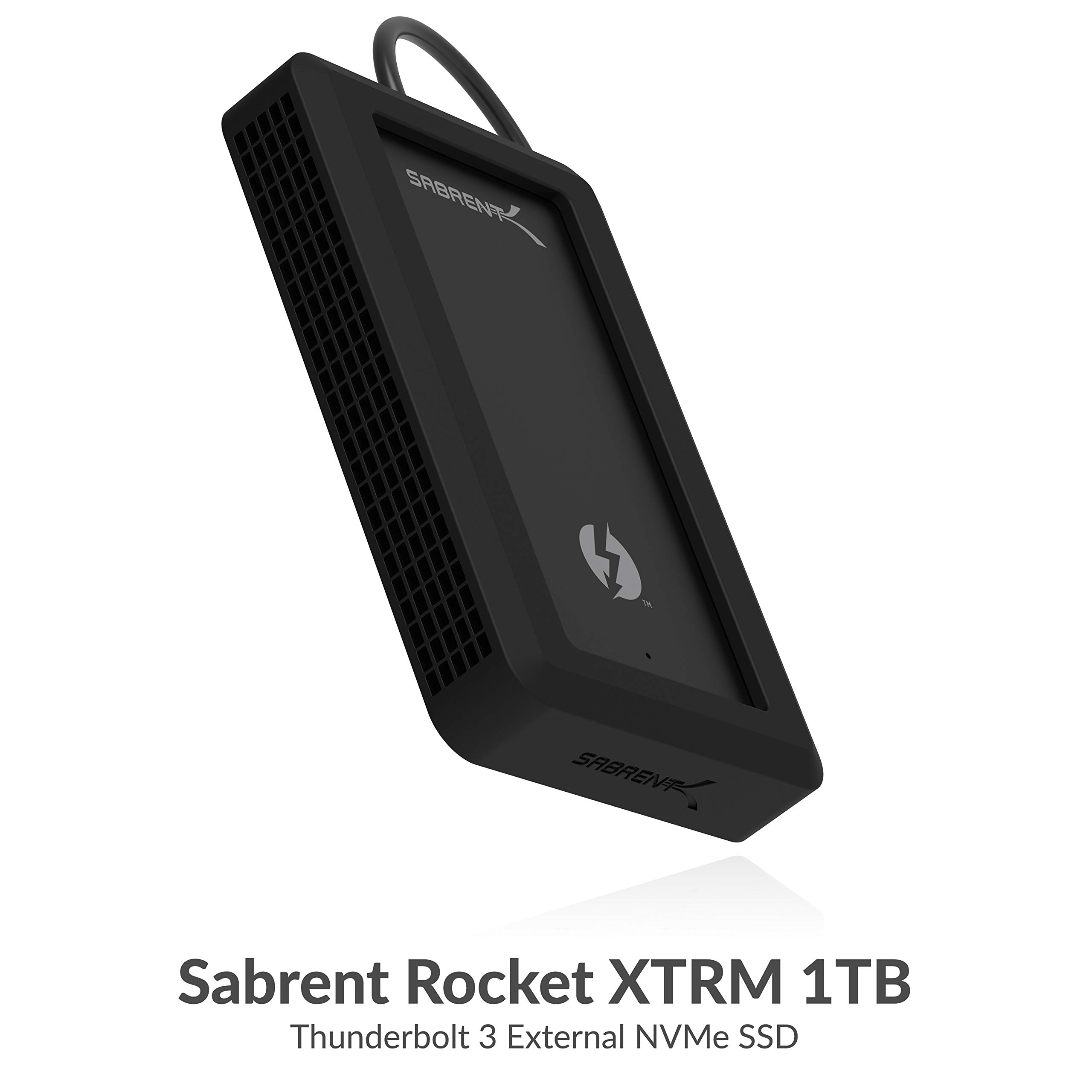 Sabrent Rocket XTRM 1TB Thunderbolt 3 External Nvme SSD with Bumper Guard(Th-P1TB) by Sabrent (Image #2)