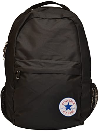 1c9c5efaf35f Converse Chuck Taylor All Star Canvas Backpack Bag-Black-One Size   Amazon.co.uk  Clothing