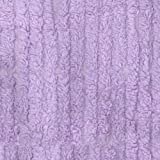 10 Ounce Chenille Lavender Fabric By The Yard