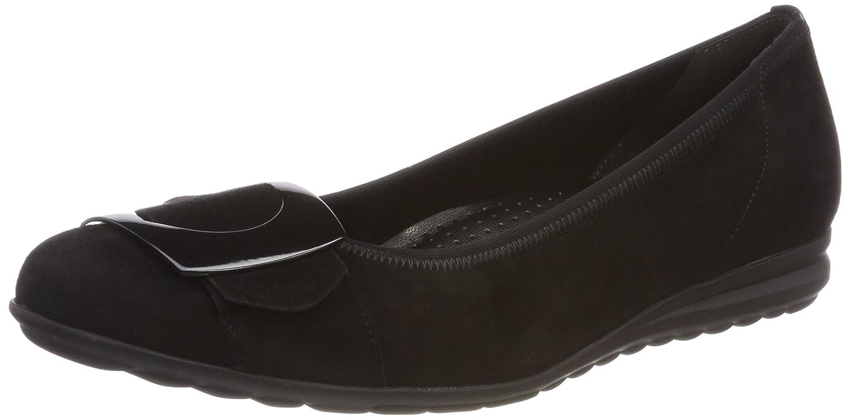 Gabor Shoes Shoes Comfort Noir Sport, Ballerines 19296 Femme Noir (Schwarz) 7900a43 - boatplans.space