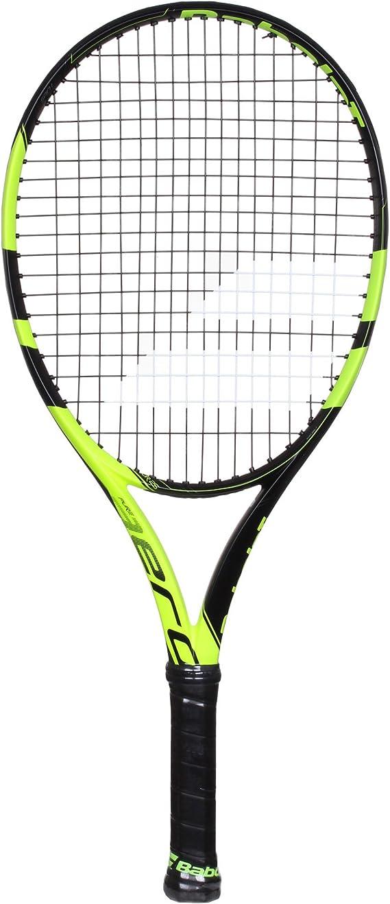 Babolat Pure Aero Junior 26 Inch Black/Yellow Tennis Racquet (140225)