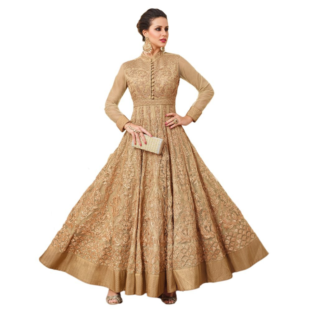 stylishfashion Designer Anarkali Salwar Suit Partywear Gown for Women