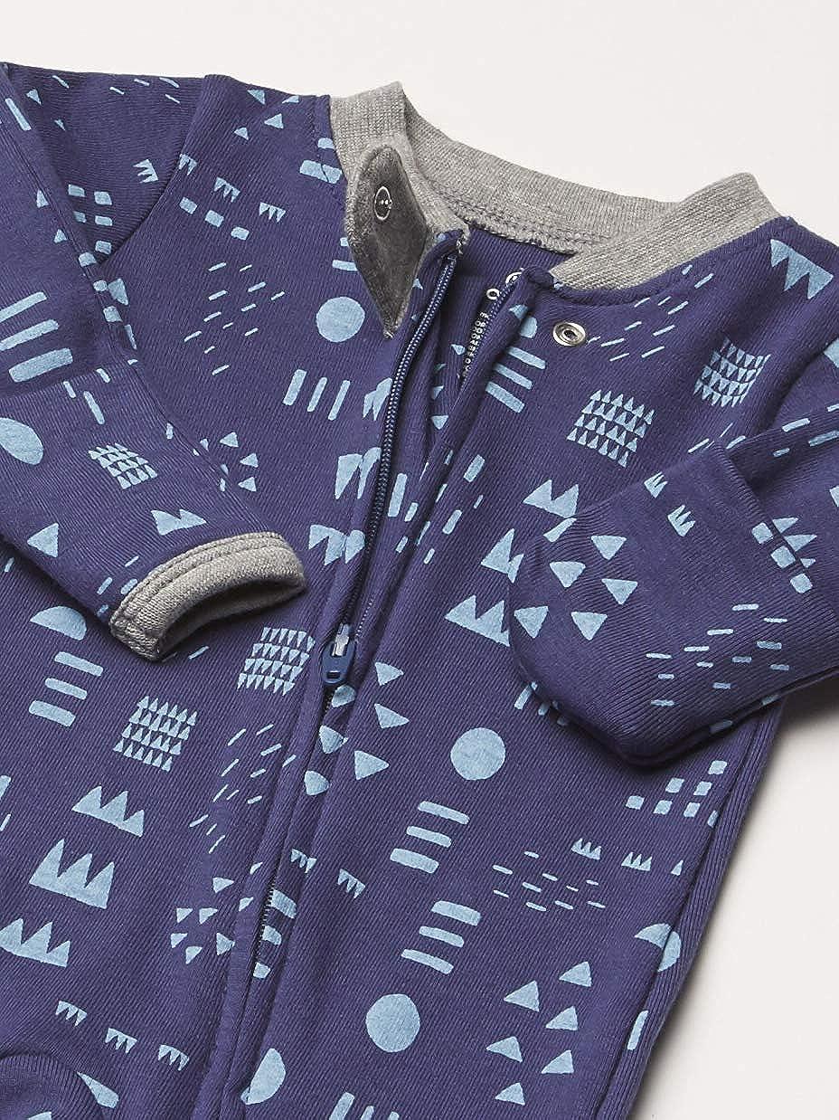 HonestBaby Baby Organic Cotton Footed Pajama Sleep /& Play