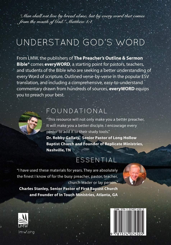 everyWORD: John: Scripture, Outline, Commentary (ESV