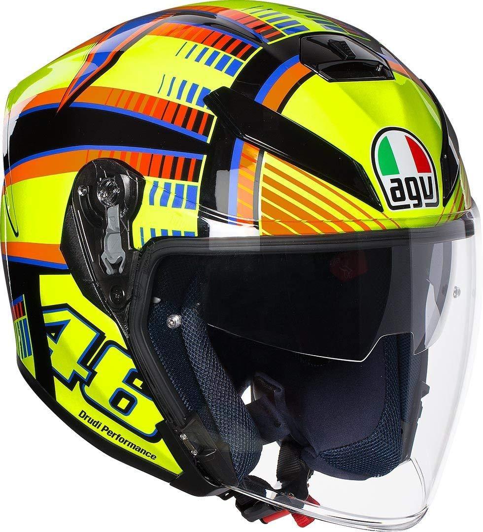 Gr/ö/ße ML Soleluna Gelb AGV Motorradhelm K-5 Jet E2205 Top