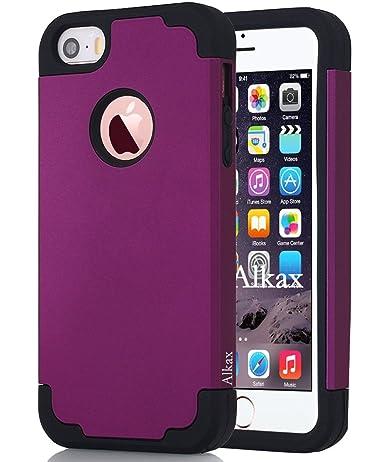 IPhone SE Case , IPhone 5S Case , IPhone 5 Case ,Alkax Dual Layer Armor