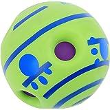 Pets Dog Toys Ball Makes Funny Giggle Sounds
