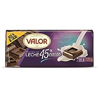 Valor, Chocolate con leche intenso 45% Cacao- 170 gr.