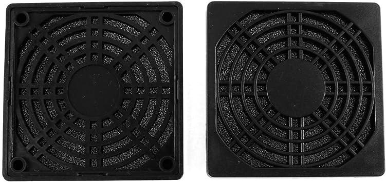 2pcs caja de la PC Ventilador de filtro de 85 mm 8.5cm de plástico ...