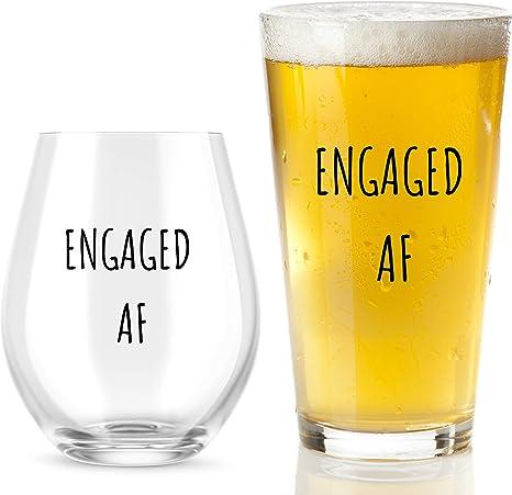 Funny Groom Beer Mug  Funny Groom Gift  Groom Gift From Bride  Wedding Gift  Under New Management  Engagement Gift  Engagement Glass