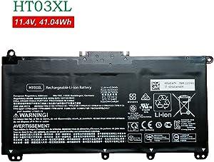 BOWEIRUI HT03XL HSTNN-IB8O L11421-1C (11.4V 41.04Wh 3600mAh) Laptop Battery Replacement for Hp Pavilion 14-CE 15-CS 15-DA 250 G7 255 G7 Series HSTNN-LB8L HSTNN-IB8OL HSTNN-DB8SL HSTNN-DB8R HSTNN-LB8M