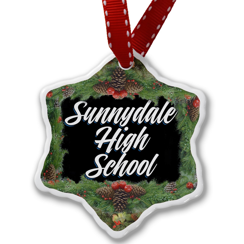 Christmas Ornament Classic design Sunnydale High School - Neonblond