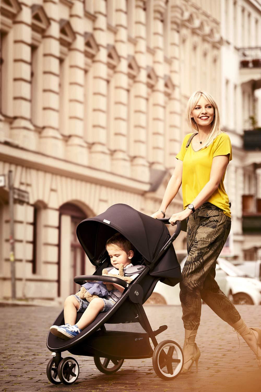 Schutzb/ügel Ab Geburt bis 17 kg ca. 4 Jahre Lavastone Black CYBEX Gold Kinderwagen Agis M-Air3 Inkl
